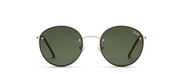 Farrah Sunglasses - Gold/Green