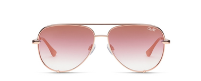 High Key Mini Sunglasses - Rose/Copper Fade