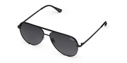 High Key Mini Sunglasses - Black/Smoke