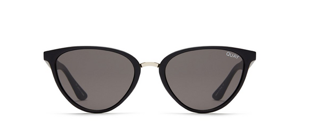 Rumours Sunglasses - Black/Smoke