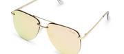 The Playa Sunglasses - Gold/Pink