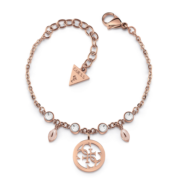 Guess Tropical Sun Bracelet - Rose Gold