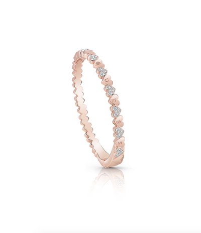 Guess Heart Bouquet Bracelet - Rose Gold