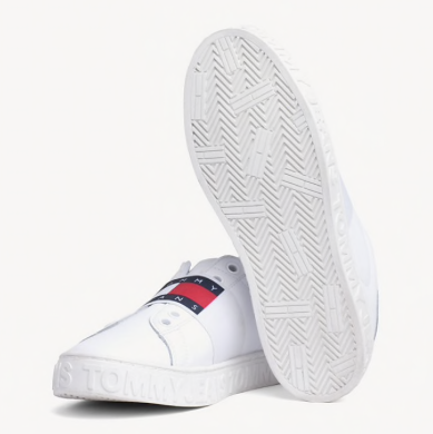 Tommy Hilfiger Tommy Jeans Slip On Cool Sneaker - White