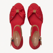 Tommy Hilfiger Iconic Elba Sandal - Tango Red