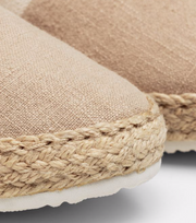 Krista Espadrille - Light Taupe
