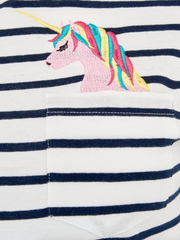 Mimi Pocket Full Of Dreams Unicorn T-Shirt
