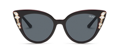 Audacious Sunglasses - Black/Smoke