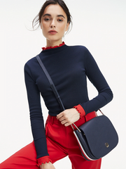 Tommy Hilfiger Core Saddle Handbag - Navy
