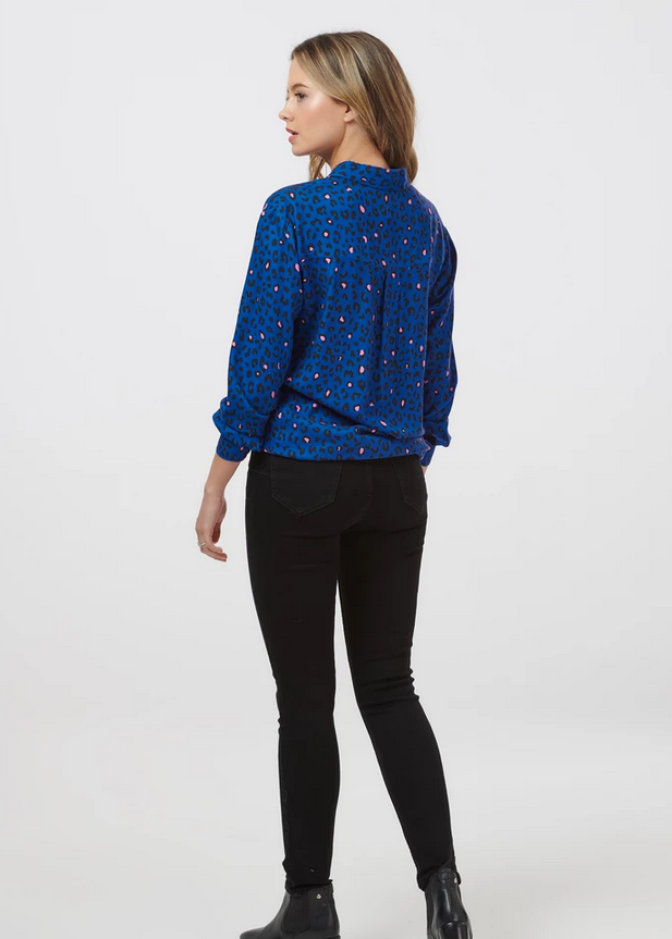 Joy Colour Pop Animal Shirt - Royal Blue