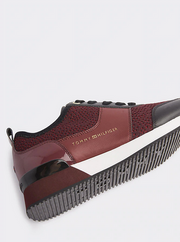 Tommy Hilfiger City Iconic Knitted Sneaker - Chocolate Truffle
