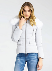 Guess Sigourney Jacket - Mountain Grey