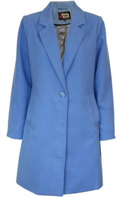 Dana Coat - Blue