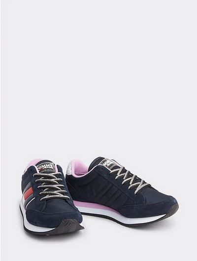 Tommy Hilfiger Casual Retro Sneaker - Midnight/Orchid Bouquet