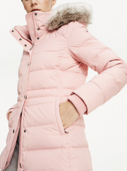 Tommy Hilfiger New Tyra Down Padded Jacket - Bridal Rose