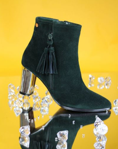 Annabelle Boot - Green