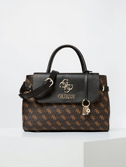 Guess Esme Girlfriend Satchel - Brown
