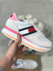 Tommy Hilfiger Flatform Sneakers - White
