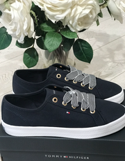 Tommy Hilfiger Essential Nautical Sneaker - Desert Sky