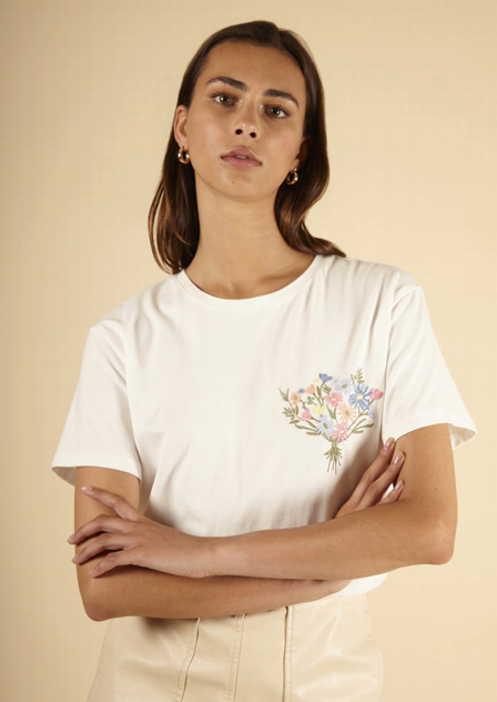 Calogera T-Shirt - White