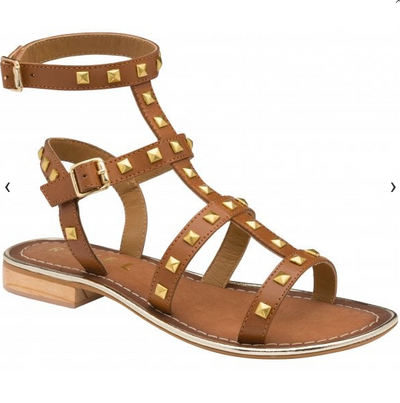 Parkes Leather Sandals - Tan