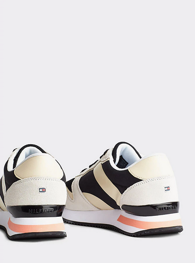 Tommy Hilfiger Feminine Active City Sneaker - Black