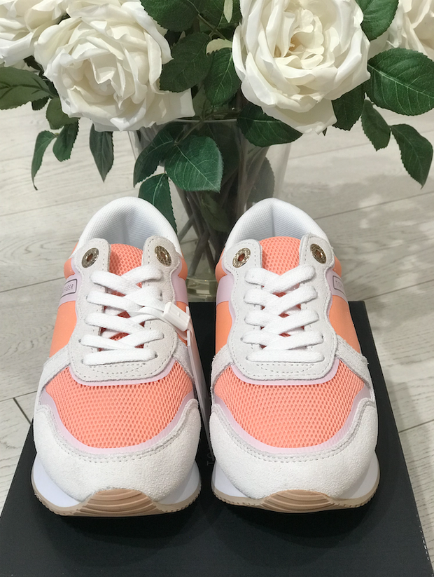 Tommy Hilfiger Feminine Active City sneaker - Island Coral