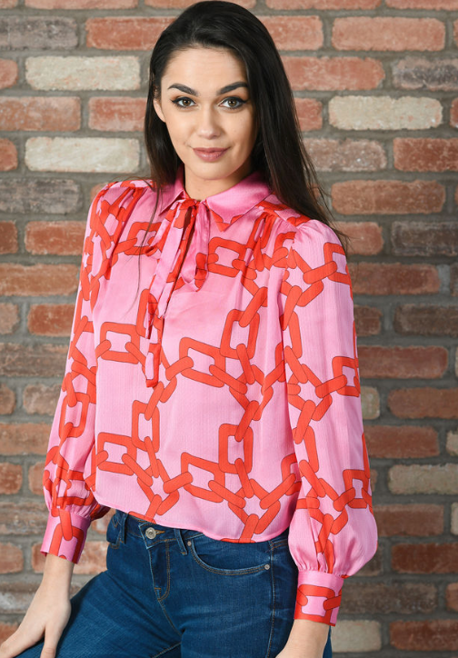 Maisie Top - Red