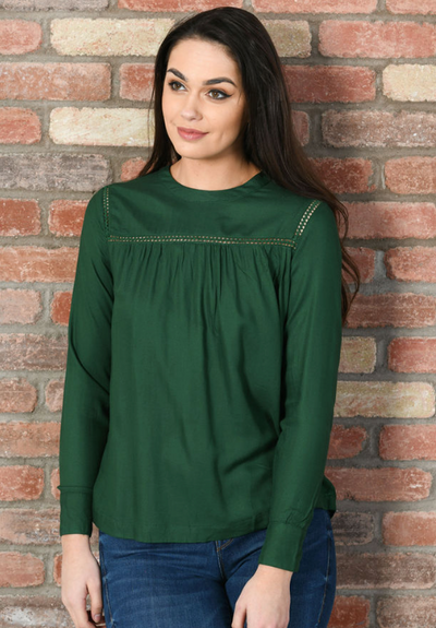Catarine Top - Dark Green