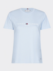 Tommy Hilfiger Essential Organic Cotton T-Shirt - Breezy Blue