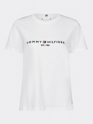 Tommy Hilfiger Essential Organic Cotton T-Shirt - White