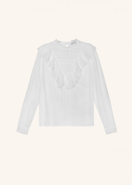 Carmelie Top - White