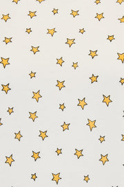 Maggie Little Star Print T-Shirt - Off White