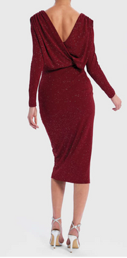 Codie Dress - Burgundy