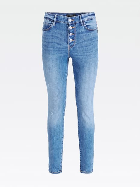 Guess 1981 Exposed Button Jeans - Bayshore