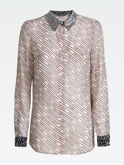 Guess Long Sleeve Leslie Shirt - Cool Pink