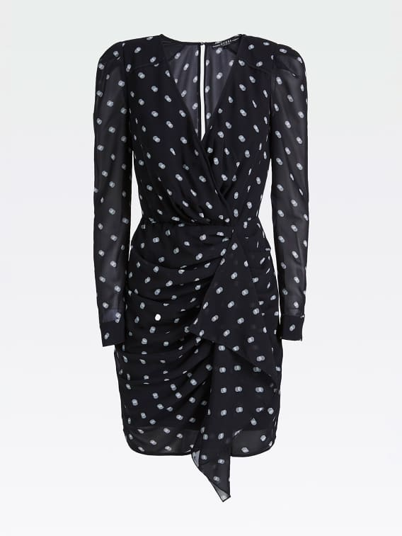Guess Amal Dress - Out Of Focus Dots
