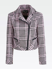 Guess Rasha Jacket - Pink Green Macro Check