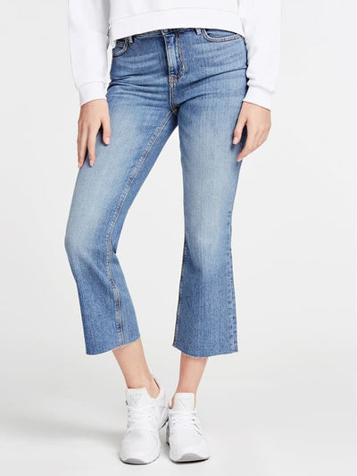 Guess 1981 Crop Flare Jeans - Soround