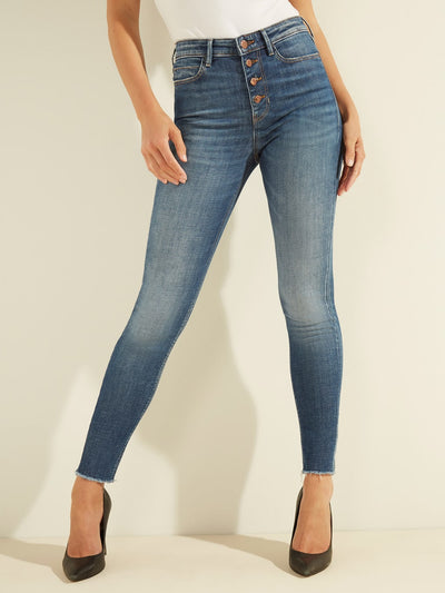 Guess 1981 Exposed Button Jeans - Bayswater
