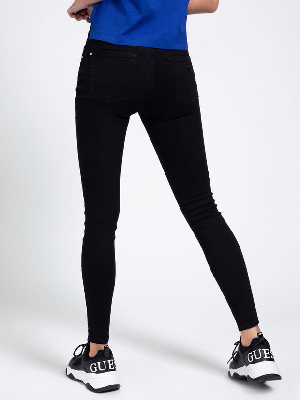Guess Mid Rise Jeggings - Groovy Black