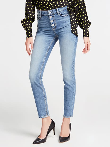 Guess 1981 Exposed Button Jeans - Soround