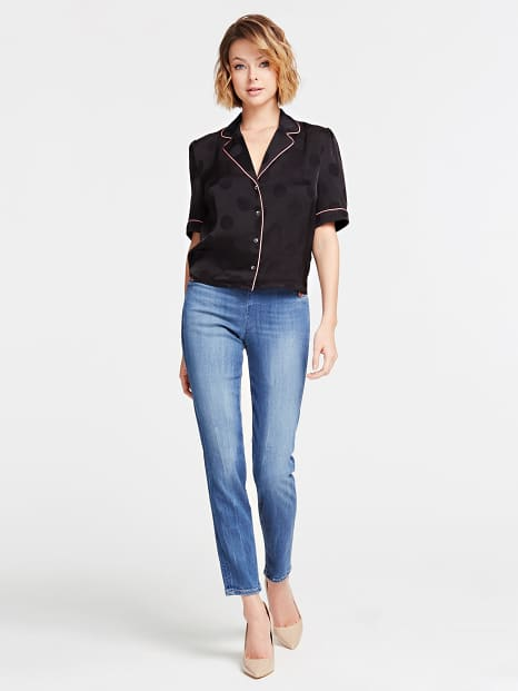 Guess Matilde Shirt - Jet Black