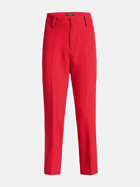 Guess Hope High Waisted Chinos - Necessary Red