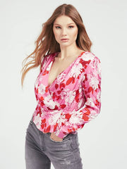 Guess Elizabeth Top- Retro Roses