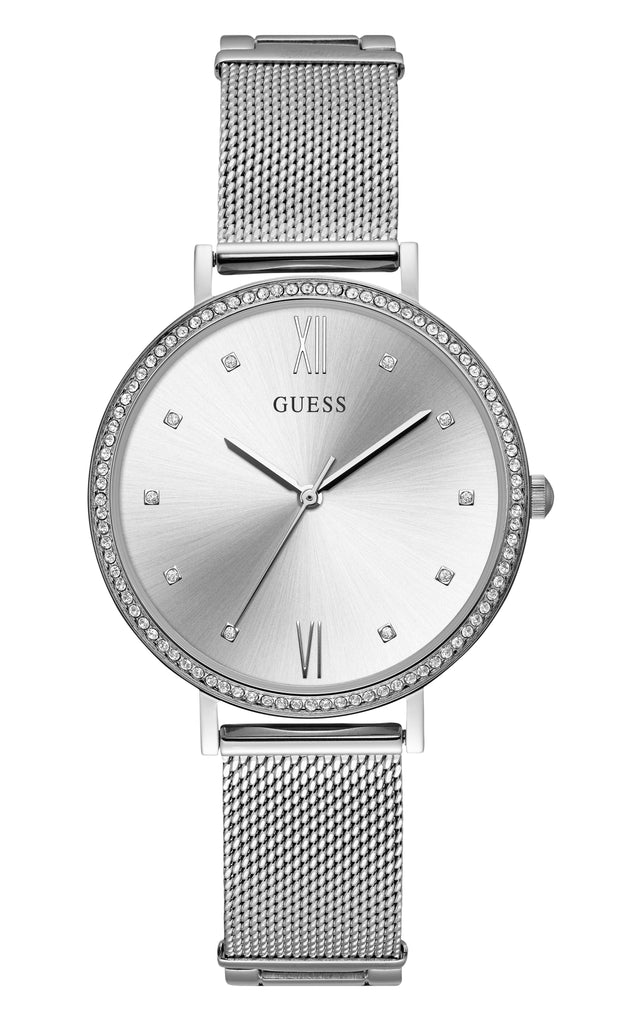 Guess Grace Ladies Dress Analog Silver Watch