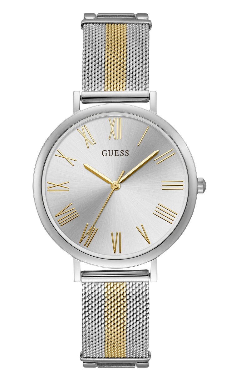 Guess Lenox Ladies Dress Analog Silver Watch