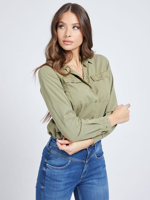 Guess Mona Shirt - Green