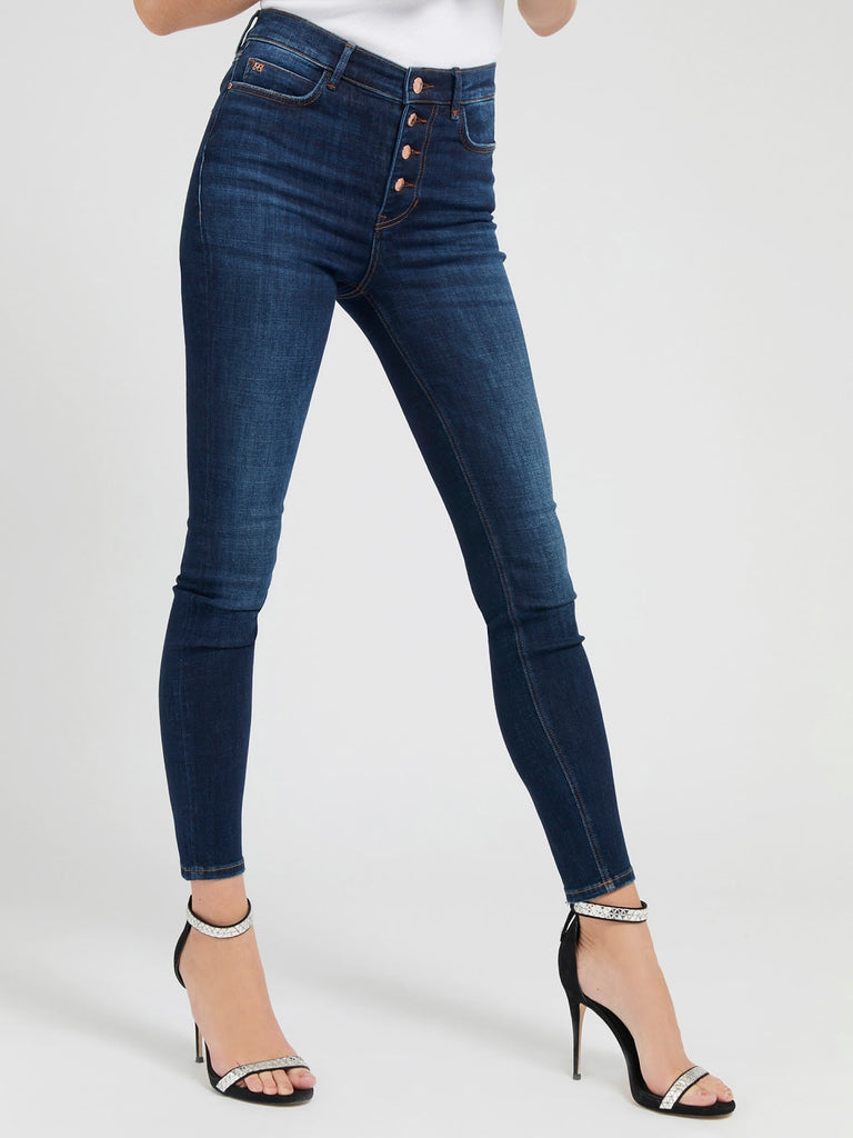Guess 1981 Exposed Button Jeans - Another Wash