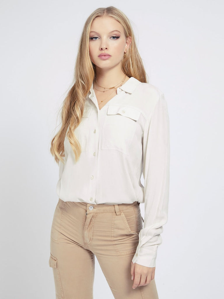 Guess Mona Shirt - Ivory Bone